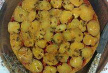 rica comida   horneAndo Algo / las recetas del blog de comida salada, de todo un poco, pero todo rico: pollo, verduras, hamburguesas, tartas, empanadas, pizzas, alcauciles, patacones...