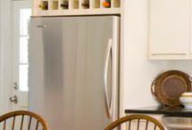 Above fridge ideas