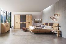 Schlafzimmer / Schlafen, Schlafzimmer, bedroom, Massivholz, modern, Boxspring, sleep, Natürlichkeit,