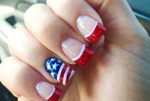 unghie americani
