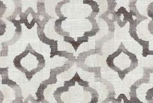 Fabrics & Upholstery / Upholstered headboards, chairs, and couches, and fabric inspiration for the job.