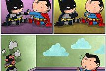 Tirinhas de super-heróis