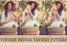 Vintage Bringa- Katrina Tarnovski / vintage bicycle- spring- Budapest- Katrina