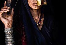 Beautiful women, tribal women