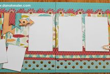 Scrapbooking & Card ideas / ideas for 2 page layouts / by Debi Thomas