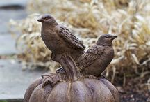 Seasonal Fall Statues / All Statuary at Garden-Fountains.com is on sale. Use the Coupon Code: Harvest20 at checkout for 20% Off. http://www.garden-fountains.com/statuary/ Sale Ends October 31st.