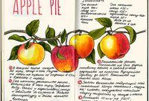 Recipe journal + illustration
