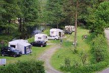 Camperplaatsen en reizen