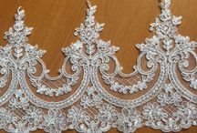 Beautiful Alencon lace