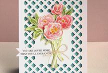 Scrapbooking Pretty Peonies Cards
