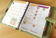 organization with my journal/planner
