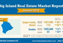 HAWAII REAL ESTATE INFOGRAPHICS / Statewide and island-specific statistics. These reports reflect the sates and individual islands as a whole, but real estate is local, and each island, region and neighborhood has its own market trends. Contact a Prudential Locations agent today for even more hyper local real estate market information.
