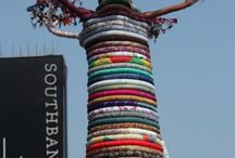 #guerrillaknitting / #crochet #tricot #calle #ciudades