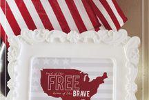 Free 4th of July Printables / by Fab N' Free