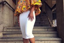 Summer Fashion Inspiration / African fashion that we find inspiring - summer outfits that we believe would go well with our statement jewellery, enjoy!