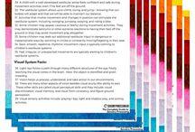 Sensory processing articles
