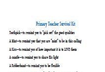 Lds Teacher appreciation gifts
