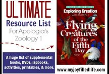 Homeschool- Apologia's Flying Creatures / Activities and educational lesson plans about flying creatures.