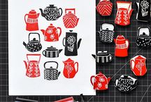 * linocuts&stamps *