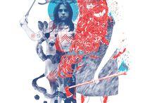 Illustration / For more digital art visit my website: dymanska.com