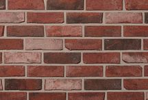 Crossroads Series Clay Brick | Brampton Brick / Our most diverse colour offering! Crossroads clay bricks, with their rugged, tumbled appearance, and a full palette of rich tones and textures, accentuate any commercial or residential building design.