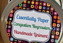 essential oil liniment congestion