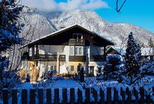 Hotel Villa Sonnenhof im Winter / Winter 2016 in Bayerisch Gmain