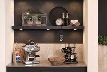 Koffiebar - kast
