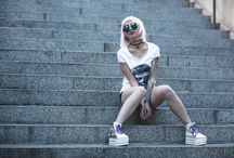 DVNT x OPHELIA / Opheliah lights up the streets wearing DVNT in this shoot with Matt Donaldson Photographer.