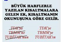 Türkçe - tarih - bilgi