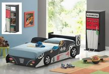 Race Car - Twin Beds
