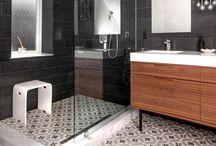 space in: bathroom