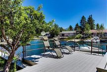 South Lake Tahoe Keys Villa Rental / South Lake Tahoe Vacation Rental with Boat Dock in Tahoe Keys