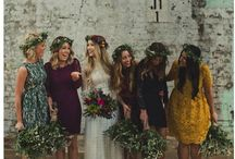 Alternative wedding / Simple, smart wedding styling, decoration and bouquets