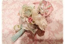 Mini Bouquets Designed by Ooh-La-La Vintage Treasures