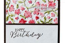 SU Textured Impressions Prägeform Frühlingsblumen - Spring Flowers Embossing Folder