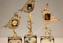 Mixed Media sculptures