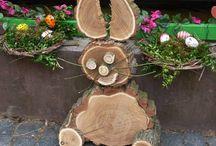rustic wood - nature crafts