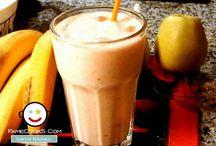 Συνταγές για Smoothies / Μπες στο www.famecooks.com, μοιράσου τις συνταγές σου, ανέβασε τις φωτογραφίες σου, κάνε νέους φίλους και απογείωσε την κουζίνα σου!