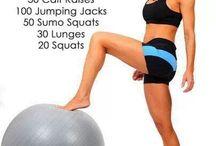 Workout- legs/butt / by Teralee Barnett