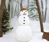 snowmen / by Melissa Brownlee