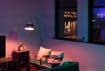 To Lounge in / Ideas to light up your living area, where the moments are cherished and the spaces are shared.