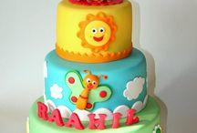 Ajens birthday cake ideas