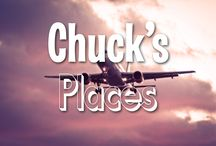 Chuck's Places / These are all the places Chuck wants to go! Where should Chuck go next?