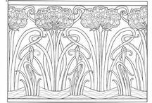 art nouveau/deco / patterns