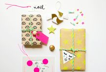 Festive wrapping and packaging / by Tuff Kookooshka
