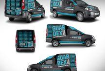 car branding design