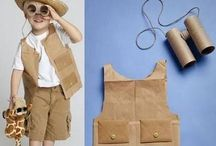 roupas de material reciclado