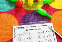 Subtraction Games and activities / Activities, games and ideas to help teach and consolidate subtraction and encourage number fact fluency for first grade and second grade. Use strategies to teach the basic subtraction facts.