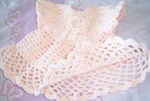 tejidos niñitas vestidos